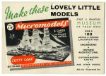 Show Card Cutty Sark Micromodels