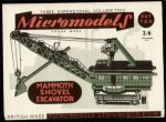 TO II Shovel Excavator 2.6 Micromodels