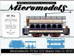 TR II Trams 2 MicromodelsUSA