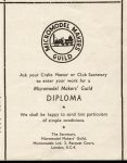 diploma leaflet Festival of Britain 1951