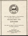 diploma leaflet Festival of Britain 1951