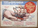 A1 Romance of Sail 1.4 sticker blue Modelcraft