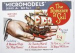 A1 Romance of Sail 1.4 sticker red Modelcraft
