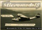 AV 6 2 PBY-5A Catalina Seaplanes MicromodelsUSA