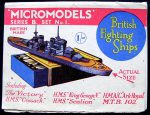 B1 British Fighting Ships first edition Modelcraft
