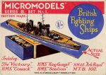 B1 British Fighting Ships second edition Modelcraft
