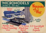 C1 Weapons of War first edition Modelcraft