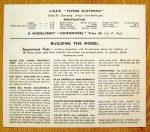 Flying Scotsman back Modelcraft