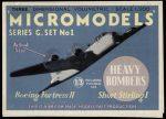G1 Heavy Bombers Modelcraft