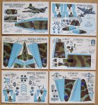 G1 Heavy Bombers cards Modelcraft