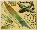H1 Sunderland card 1 Modelcraft