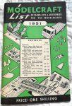 Modelcraft List 1951