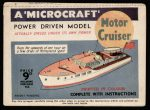 Motor Cruiser first edition Modelcraft