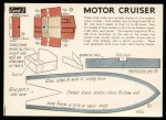 Motor Cruiser first edition card 2 Modelcraft