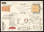 Motor Cruiser first edition card 3 Modelcraft