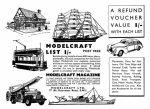 1952 Hobbies Handbook Modelcraft ad