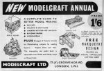 1955 Hobbies Annual Modelcraft ad