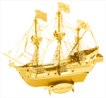 Golden Hind Metal Earth