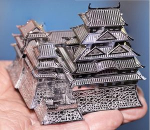 Himeji Metal Earth built by Frank Odds