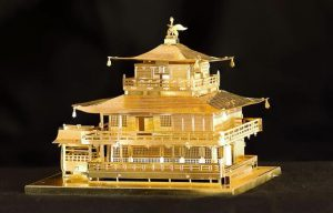 Kinkaku-ji Metal Earth built by Frank Odds