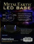 LED Base Metal Earth