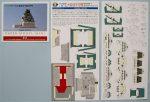 9 Osaka Castle Paper Model Mini (2)
