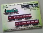 SECS1 South Eastern & Chatham Railway Passenger Train Millimodels